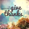 Give Thanks Horizontal